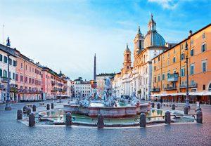 piazza navona, fontana a Roma