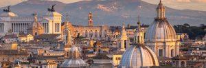 vista di roma fantastica da dove si possono osservare varie cupole